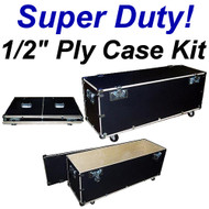 "Stands - Poles - Tripod Cases Super Duty 1/2"" Ply Case Kit - Large"