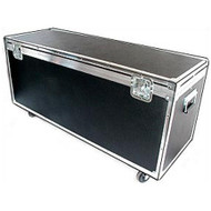 "Shipping & Supply ATA Trunk Case w/Wheels - Medium Duty 1/4"" Ply"
