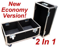 "2 In 1 Speaker - 3/8"" Ply ATA Cases - Economy Version - Custom Made!"