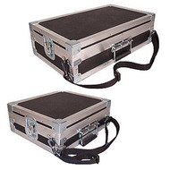 "Single Effects Pedal Units ""Over The Shoulder"" Custom Made ATA Cases"