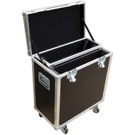 "Trap Case for Drum Equipment - 1/4"" Medium Duty ATA - Small Size"