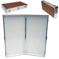 Pegboard Rack - Display Stand - Portable Case 48x48 Open