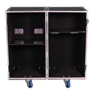 2 Sided Utility Trunk w/Adjust Shelves - ID 20x20x36 Ea Side