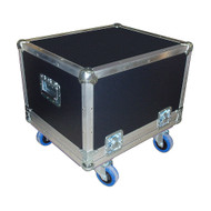 "Large Size Projector Cases 3/8"" Ply ATA w/Wheels - 6 Sizes!"