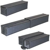 "Extendable TuffBox Telescoping Case - ID 10""x10""x48"" to 90"" Long"