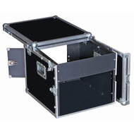 8U Over 6U Rack/Mixer ATA Case w/Top for Laptops, I Pads