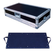"Effect Pedal Board Inside 3/8"" Ply ATA Case - 3 Sizes Start @ $219.99"