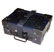 "'MINI SUPPLY CASE' Diamond Plate - ID 10""x7""x3"" - HALF PRICE!"