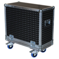 "Diamond Plate Laminate 3/8"" Heavy Duty ATA Combo Amp Case"