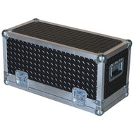 "Diamond Plate Laminate 3/8"" Heavy Duty ATA Powered Mixer Case"