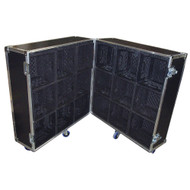 Merchandise Case Holds 18 Cube Milk Crates for Products - Great Display!