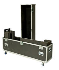 USER ADJUSTABLE ROAD CASE FITS 1 SCREEN BETWEEN 45-70''