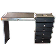 """Fantastic 6 Drawer ATA Work Case Wheels - Lids Converts to Work Surface Great for Parts, Supplies, Tools, Equipment, Accessories, Anything Outside Dimensions Closed 16"""" x 13-1/2"""" x 28-1/2"""" All Recessed Hardware ATA Option"""