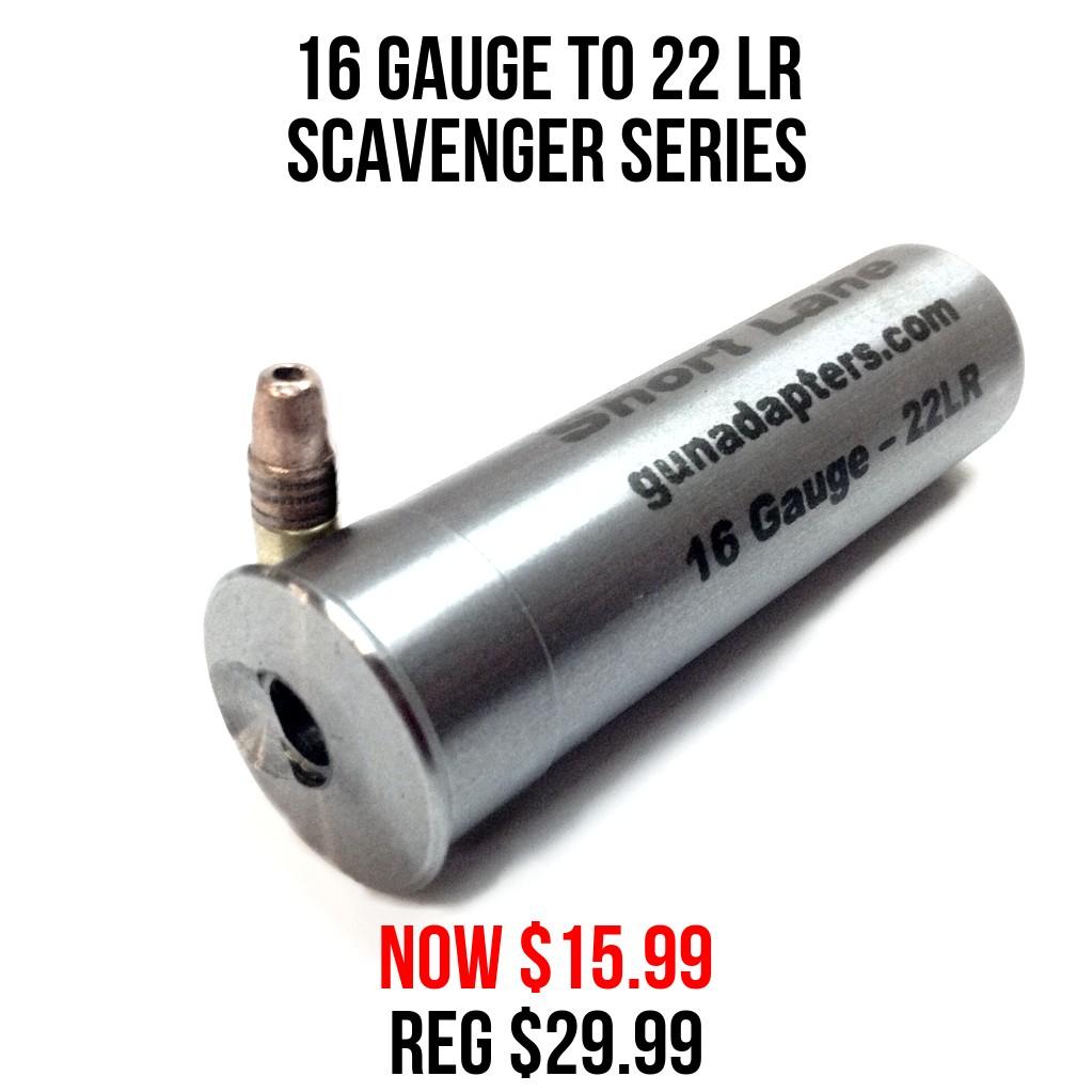 Scavenger Series 16 Gauge to 22 LR Now $15.99 Reg $29.99!