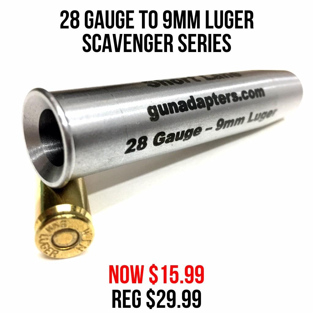 Scavenger Series 29 Gauge to 9mm Luger Now $15.99 Reg $29.99!