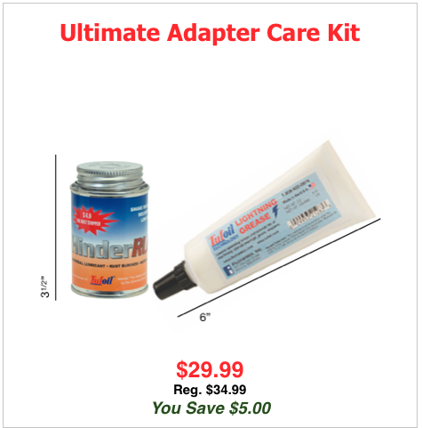 Ultimate Adapter Care Kit Now $29.99 Reg $34.99 You Save $5.00!