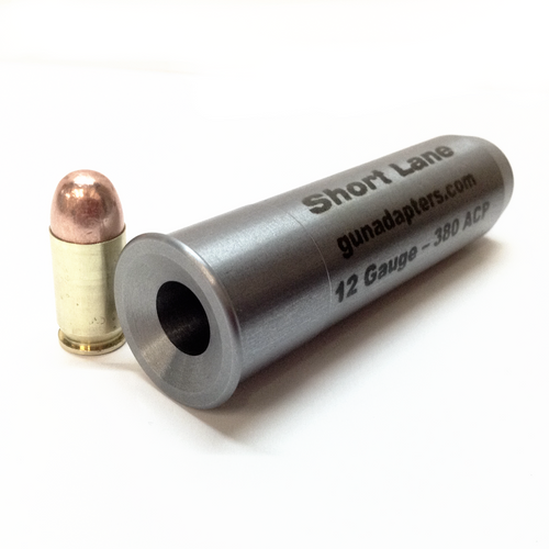 12 Gauge to 380 ACP Scavenger Series Smooth Bore Adapter