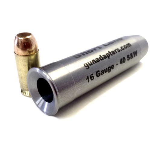 Scavenger Series 16 Gauge to 40 S&W Smooth Bore Shotgun Adapter