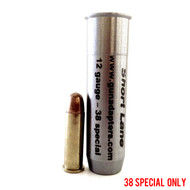 Smooth Bore 12 gauge to 38 Special Shotgun Adapter