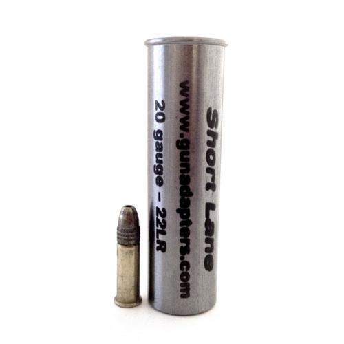 Smooth Bore 20 gauge to .22 LR Shotgun Adapter