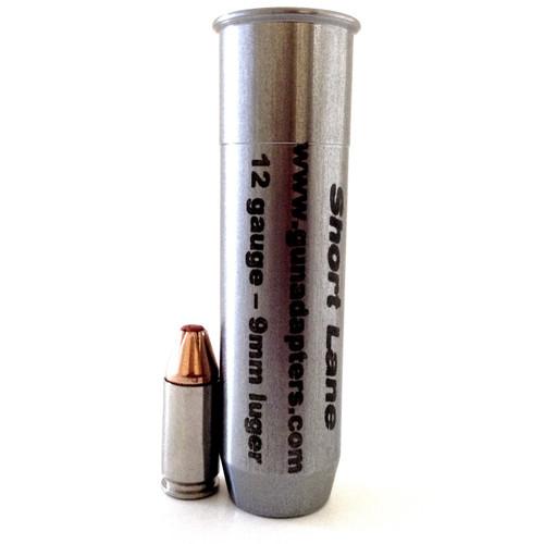 Smooth Bore 12 gauge to 9mm Luger Shotgun Adapter