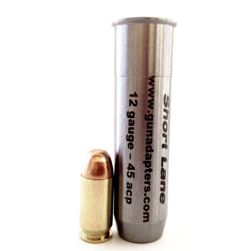 Smooth Bore 12 gauge to 45 ACP Shotgun Adapter