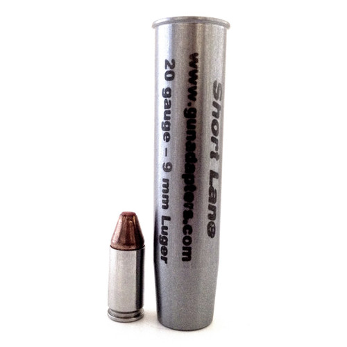 Smooth Bore 20 gauge to 9mm Luger Shotgun Adapter