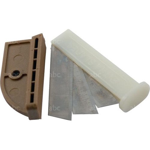 Multi-Cut All Purpose Cutting Tool -- Replacement Cutting Blades & One Anvil - Fits 300R Multi-Cut Tool