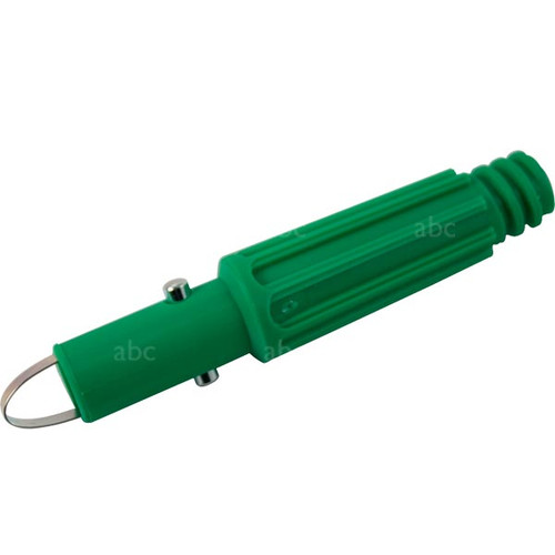 Pole Part -- Unger - Tip - Snap-In Green Nylon