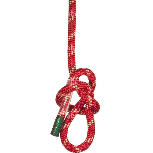 "Rope -- PMI Static Kernmantle - EZ Bend - 5/8"" - Red with Double White Tracer - 600'"