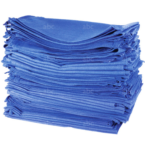 Towels -- NEW Huck 100% Cotton - Blue - 10 Pounds