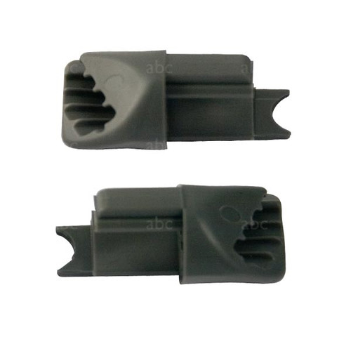 Squeegee Parts - Wide Body - CHANNEL PLUGS - fits Cobra - Pair