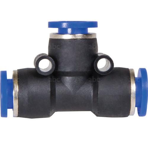 """WaterFed ® - Hose Fittings - abc - Push to fit - Tee - Tube Union - 5/16"""" OD"""