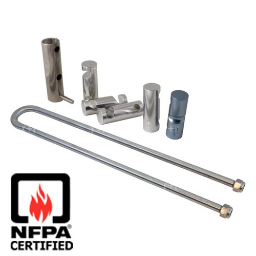 Descender - SMC 6-Bar U-Rack Complete Kit - NFPA