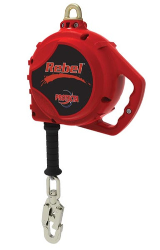 Protecta - 11' Webbing Rebel SRL with Swiveling Anchorage and Self Locking Snap Hook