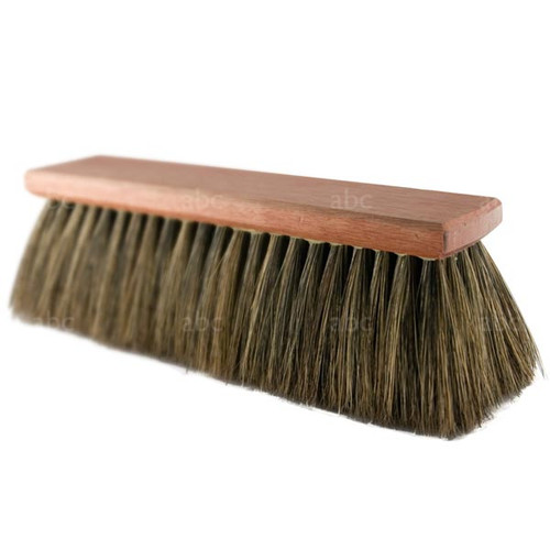 Brush -- Hoghair - 100% Pure China Boar Bristle - Style F - Handheld - 10""