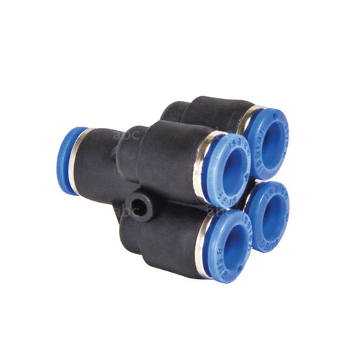 WaterFed ® - Hose Fittings - abc - Push to fit - 4 way