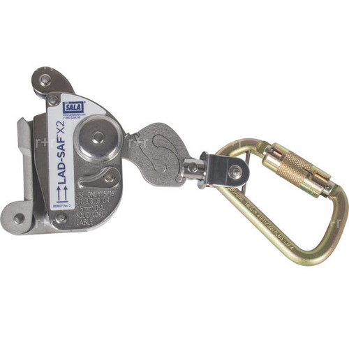 """DBI SALA Lad-Saf X2 Cable Grab for 5/16"""" or 3/8"""" Cable"""