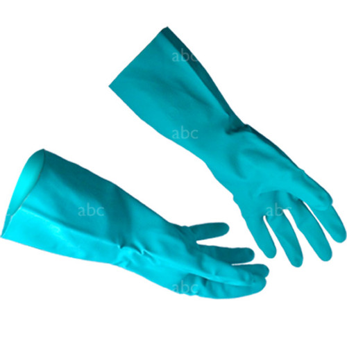 Gloves -- Chemical Resistant - Green Nitrile