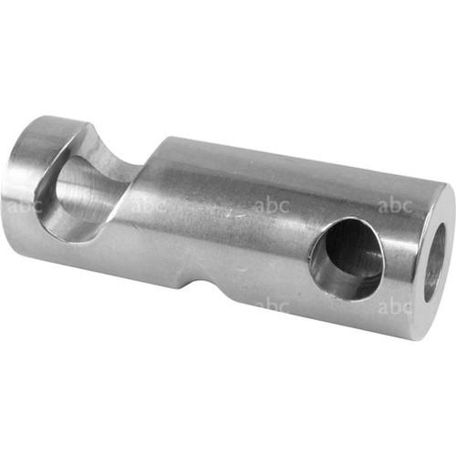 "Descender -- SMC - Brake Bar - Top Bar - Stainless Steel - 7/8"" with Training Groove"