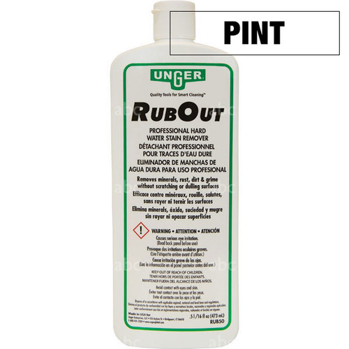 Chemical - Stain Remover - Unger - RubOut - Pint