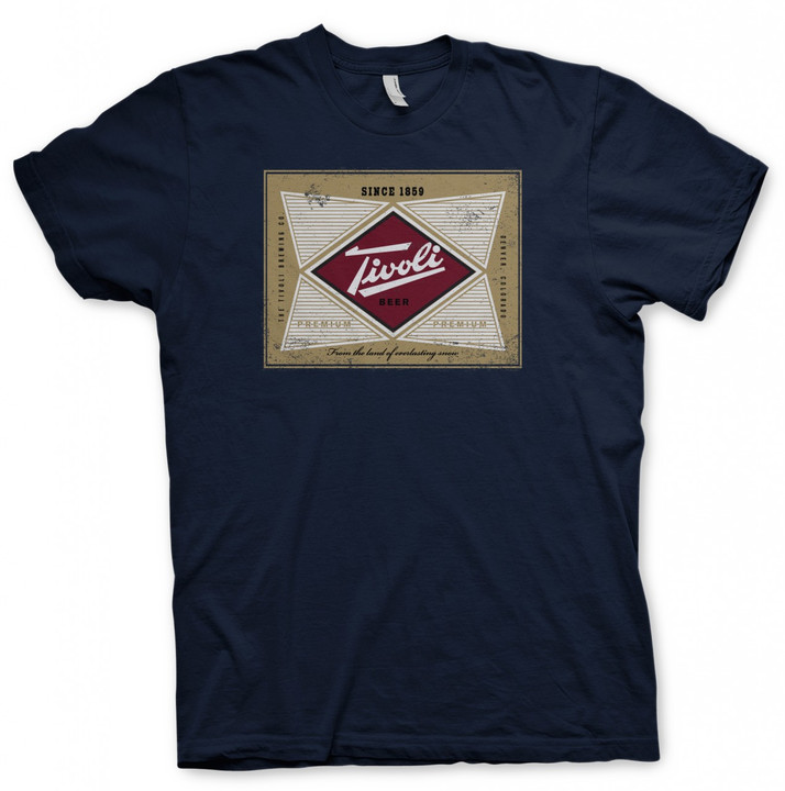 Navy - Tivoli Beer T-shirt