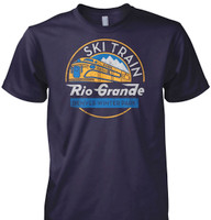 Colorado Ski Train T-Shirt - More Colors Available