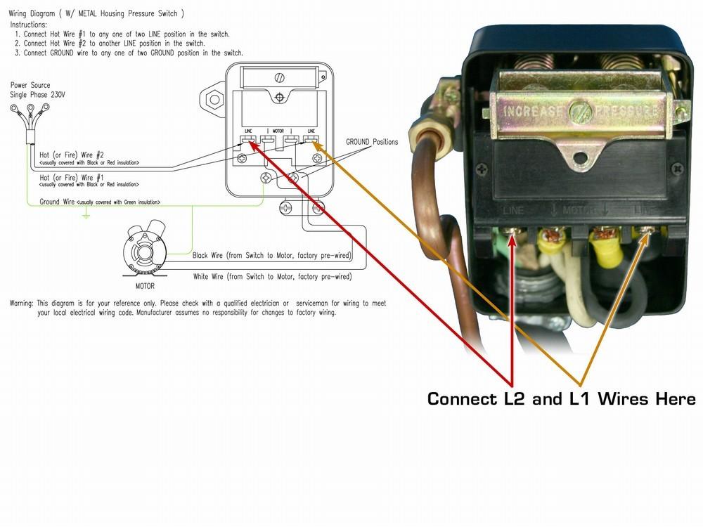 Wiring A 220 Volt Air Compressor - wiring diagrams