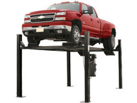 Atlas® Garage Pro 9000 Portable Heavy Duty 9000 Lb Capacity 4 Post Lift (EXTRA TALL, EXTRA WIDE)