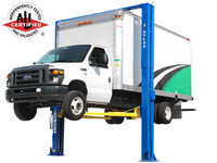 Atlas® Apex 12 ALI Certified Overhead 12,000 lb. Capacity Adjustable Height 2 Post Vehicle Lift