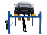 Atlas® 414A 14,000 Lbs. Commercial Grade 4 Post Alignment Lift
