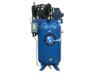 Atlas® Air Force AF8Plus Two Stage 5 HP Commercial Grade 220V Single Phase 80 Gallon Air Compressor