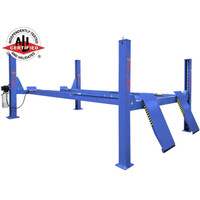 Atlas Platinum PVL14KOF-EXT Open Front 4 Post Certified Alignment Lift