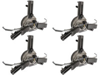 "Atlas® Fast Clamp Three Point 10""-24"" Non-Runout Wheel Clamps (Set Of 4)"
